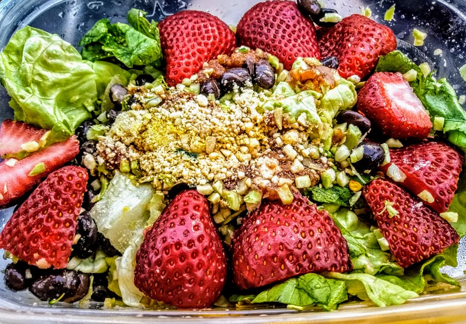 Summer Strauberry salad