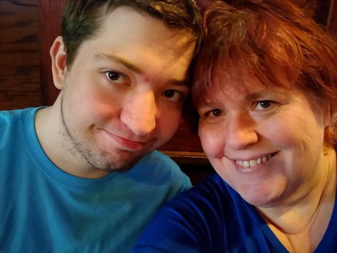 Eric and mom summer 2018