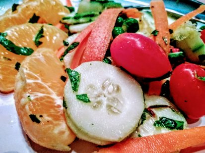Cucumber Carrot Citrus Salad