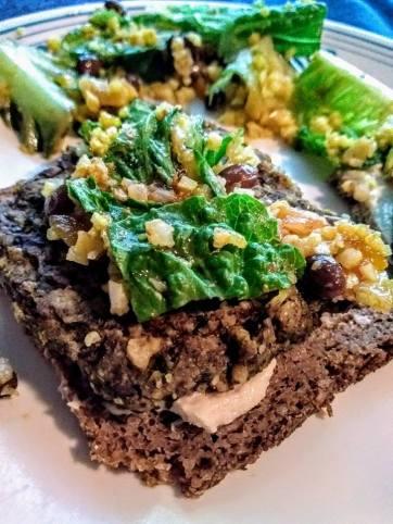 Bean Steak On Rye w/Kale
