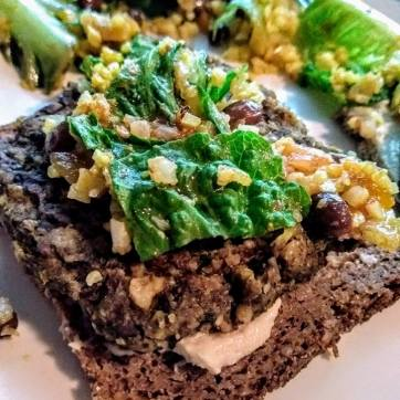 Bean Steak On Rye w/Kale
