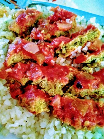 Spicy Pea Burgers With Salsa