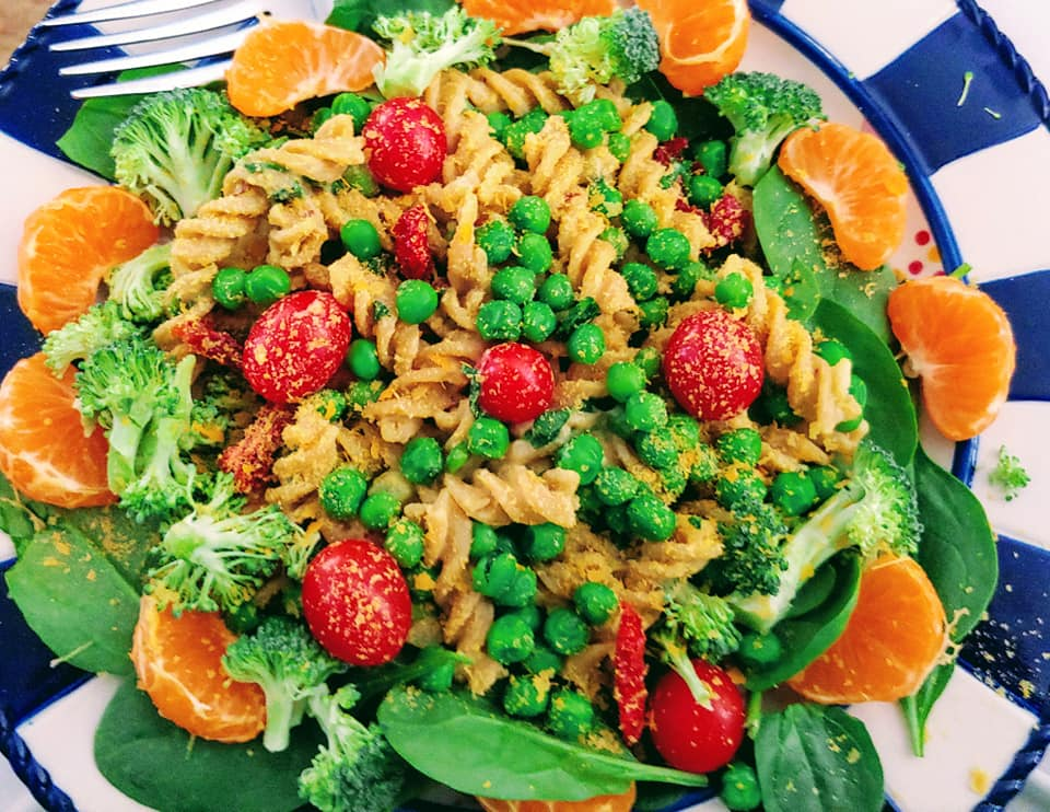 Cannelli Bean Pasta Sauce Mac On Greens