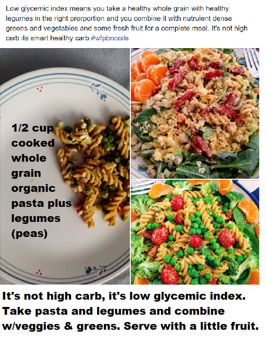 how to do low glycemic index