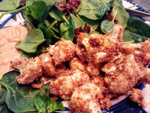 cauliflower air fried